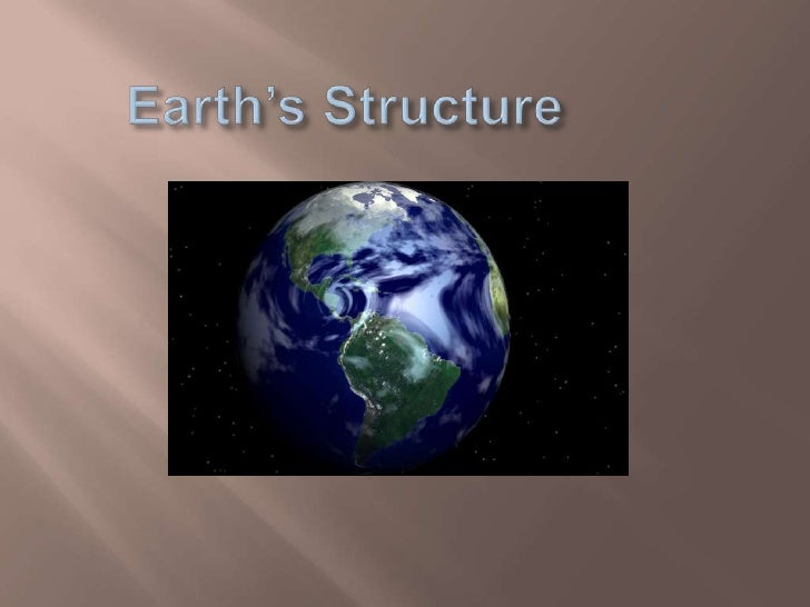 Earth's Structure<br />