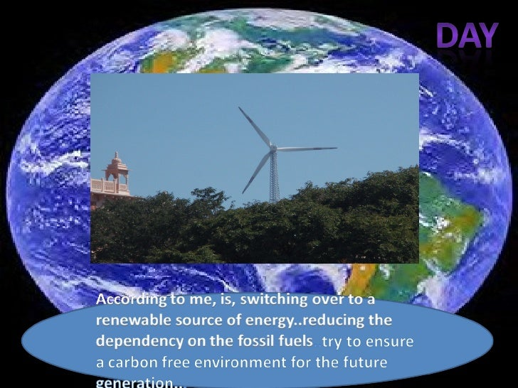Earthday Slide 1