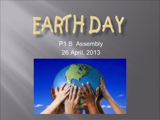 P1 B Assembly26 April, 2013