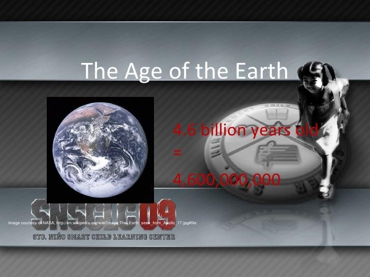 Earth History Slide 2