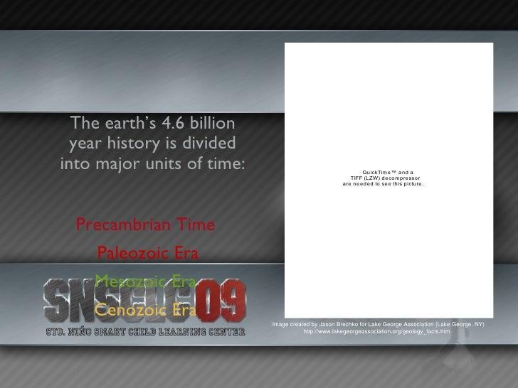Earth History Slide 3