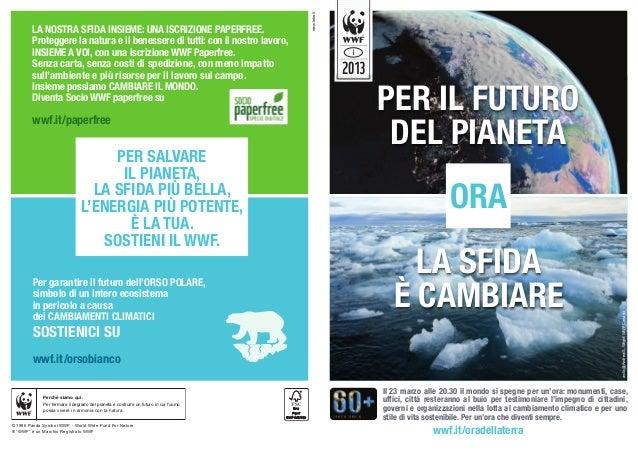 www.letre.it        LA NOSTRA SFIDA INSIEME: UNA ISCRIZIONE PAPERFREE.        Proteggere la natura e il benessere di tutti...
