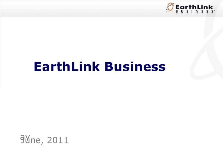 EarthLink Business June, 2011 ay