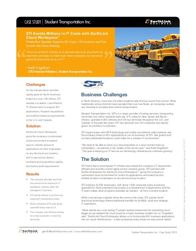 Business Challenges In North America, more than 24 million students take the bus to and from school. While traditionally s...