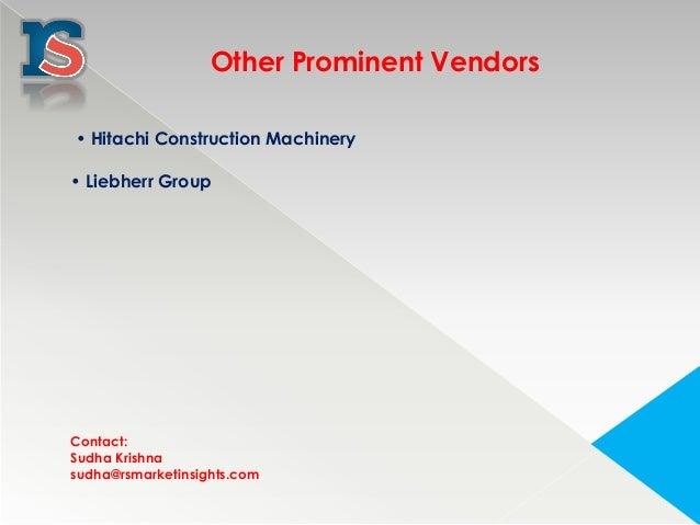 Earthmoving equipment market in saudi arabia 2015 2019-