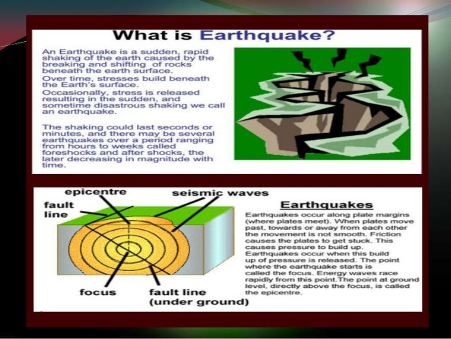 a discussion on earthquakes Earthquakes: getting ready for the big one  between plate movements and earthquakes to guide the discussion,  earthquakes and volcanoes.