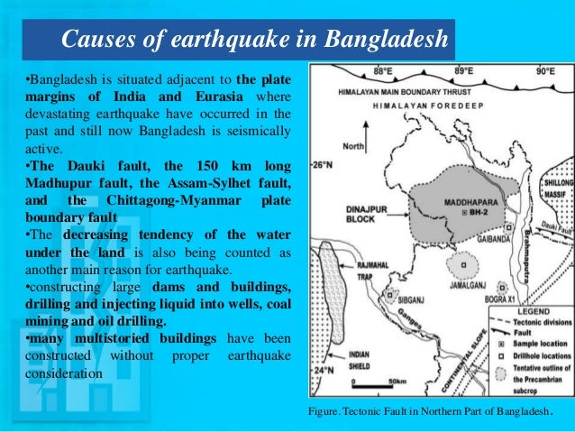 earthquake in bangladesh About 82% percent buildings in the capital city of bangladesh are at stake a medium level earthquake in bangladesh may cause something really bad.