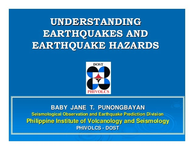 Earthquake and its hazards