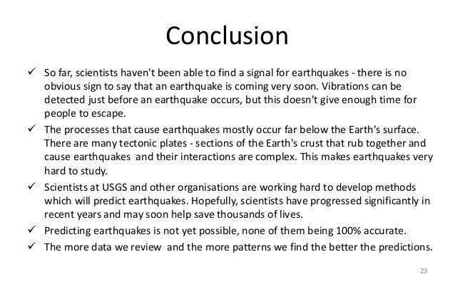 Essay writing earthquake