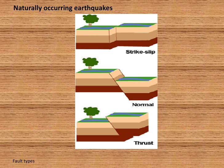 naturally occuring earth quakes