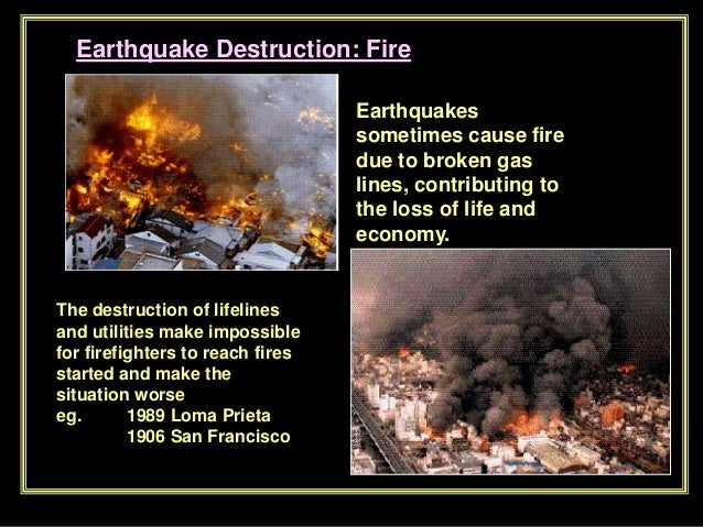 effects of earthquakes fire - photo #22
