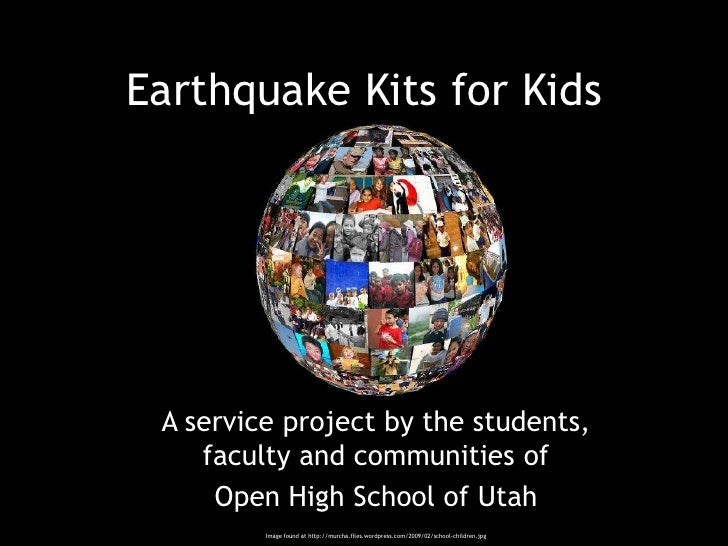earthquake groundwork project great school