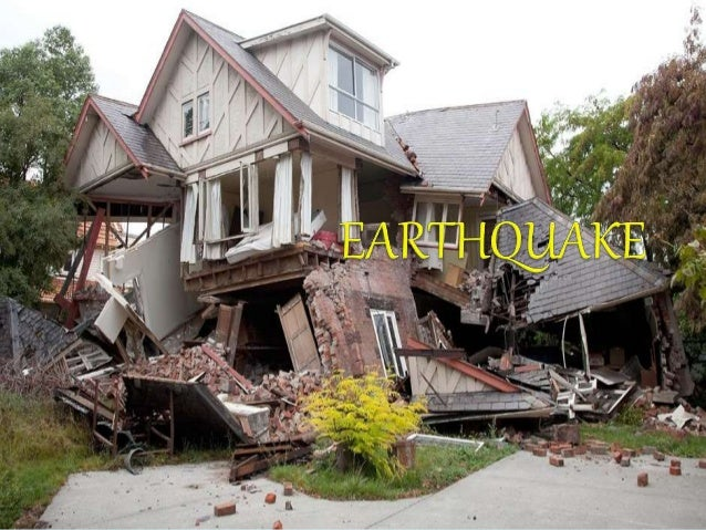 Earthquake Ppt