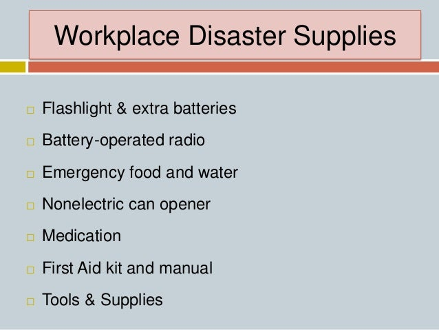 Home disaster preparedness powerpoint, fire emergency