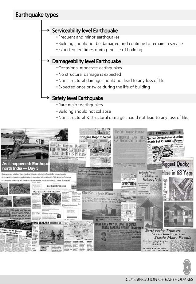 earthquake resistant design essay Fema 451b topic 7 notes earthquake engineering 7 - 1 instructional material complementing fema 451, design examples design concepts 7 - 1 concepts of seismic-resistant design.