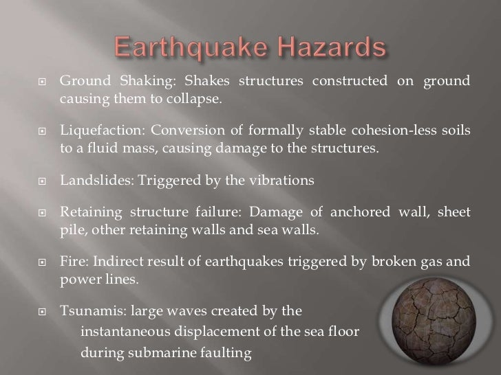 how to detect construction vibration causing landslides