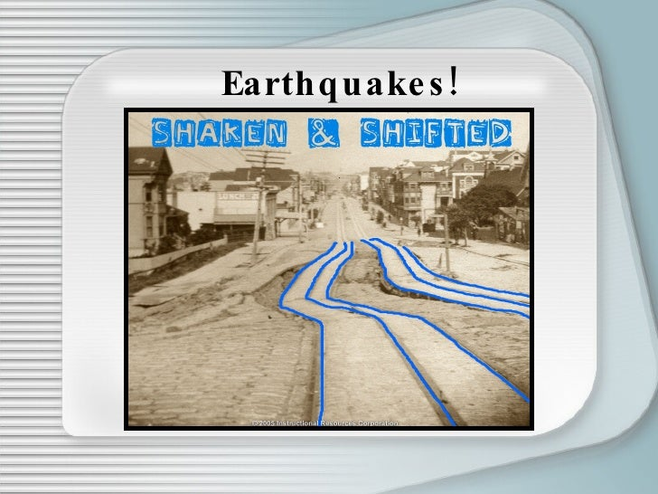 a discussion on earthquakes We are going to begin this lesson on faults and earthquakes by reading two related papers about how a team that consisted of a geologist this discussion will take place over the first week of this lesson and will require you to participate multiple times during that period.