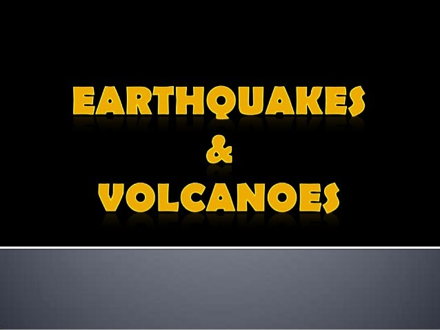 Earthquake  – is the shaking a trembling that results from the sudden movement of part of the Earth's crust.