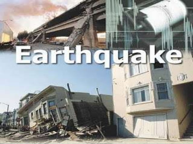 MECHANICAL BRANCHSTUDY OF EARTHQUAKE