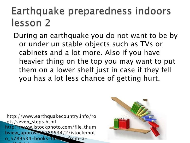 Earthquake safety preparedness and safety kit for Where do you go in an earthquake