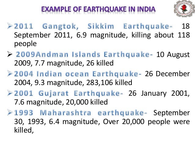 26 December 2004 9.1–9.3 magnitude 280,000 deaths Affected areas - Indonesia , Sri Lanka, India (mostly in Tamil Nadu)...