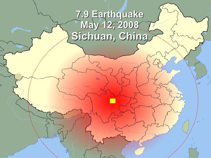 7.9 Earthquake  May 12, 2008 Sichuan, China