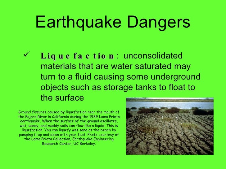 soil liquefaction dangers during arthquake First session of npdrr  land-atmosphere interactions during indian summer monsoon 1  liquefaction, landslides and tsunami.