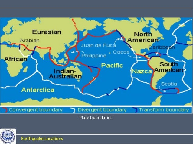 Earthquakes plate boundaries earthquake locations 34 gumiabroncs Gallery