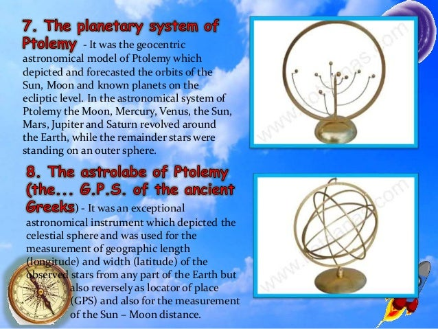 Early Astronomical Instruments