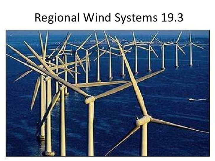 Regional Wind Systems 19.3<br />