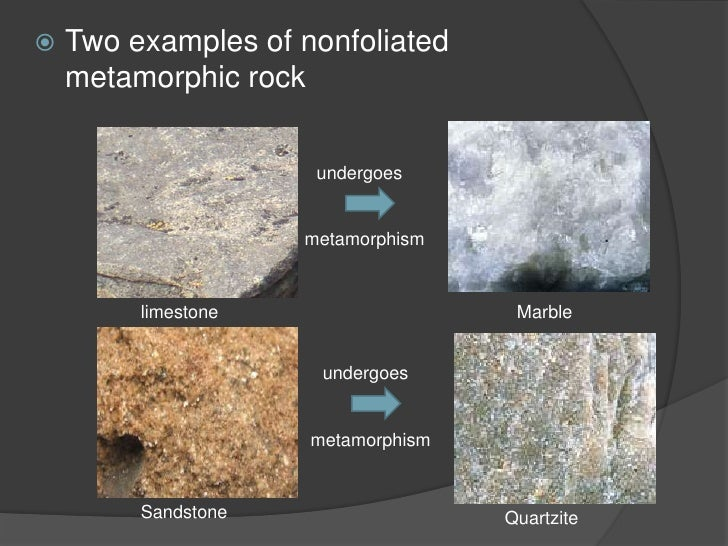 Earth Science 2 4 Metamorphic Rock