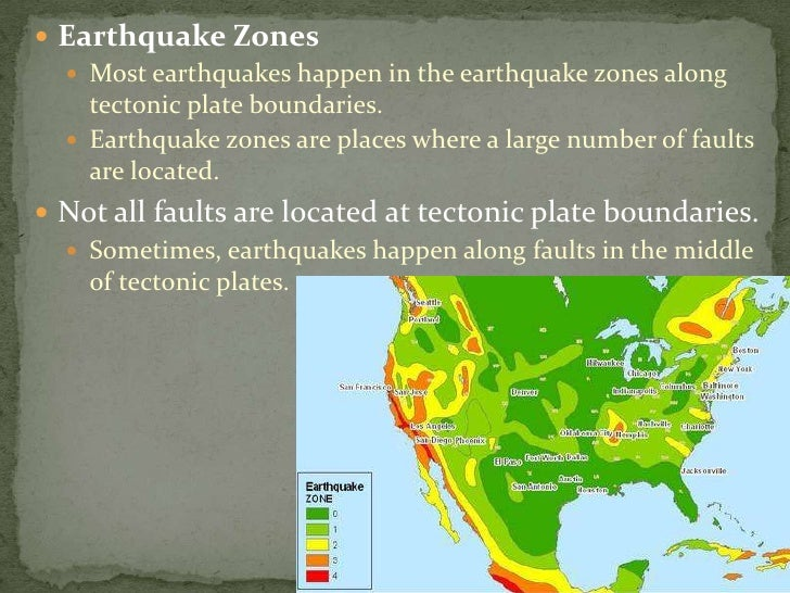 Earth Science 51 What are Earthquakes
