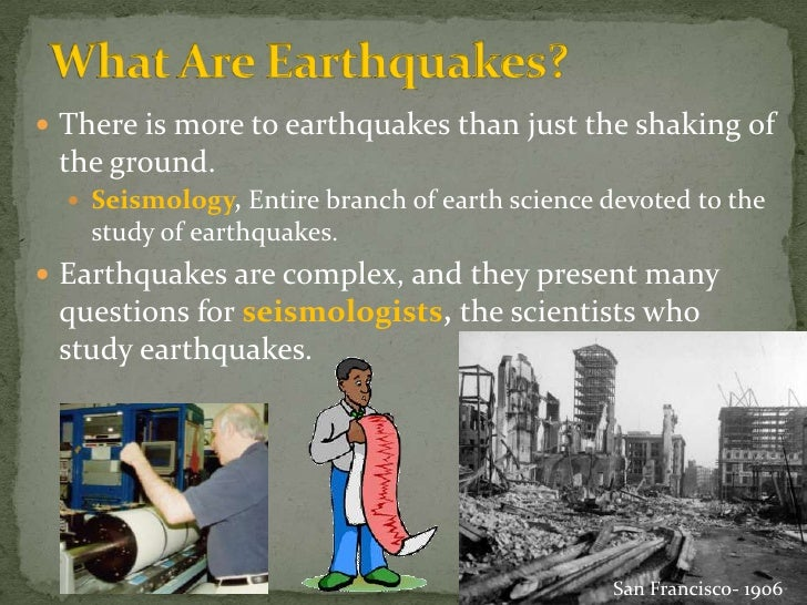 Earth Science 5.1: What are Earthquakes?