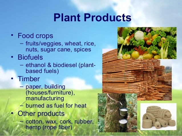 Food And Fiber And Natural Resources