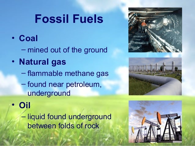 What Are The Natural Resources Used To Getting Power