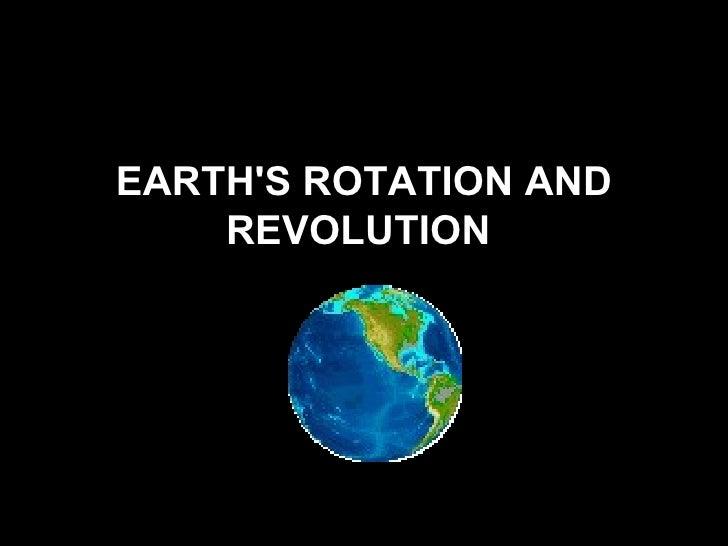 planets rotation and revolution - photo #41