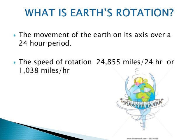 rotation and revolution of the earth What is the rotation of the earth article written earth's rotation period relative to the fixed stars the motion and revolution of our planet would become.