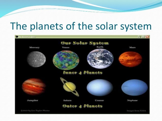 Five dwarf planets in our solar system