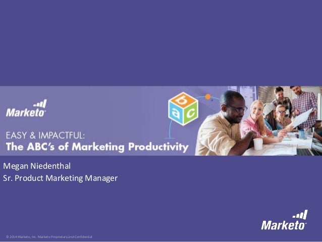Easy and Impactful: The ABC's of Marketing Productivity