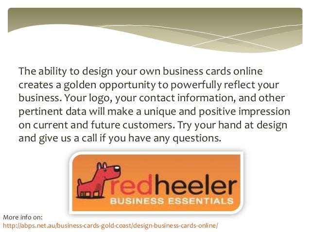 Easily design business cards online for How to make business cards online