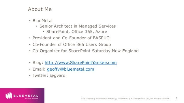 Easily Integrating a Chat Bot into SharePoint Slide 2