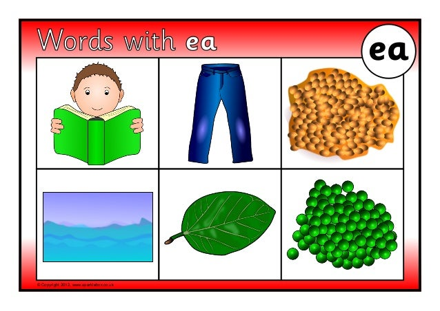 Worksheets Ea Words ea sound words copyright 2012 www sparklebox co uk with ea