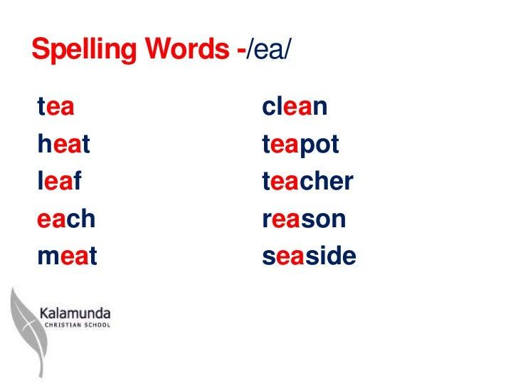 Y1 Ea spelling powerpoint sh 2012