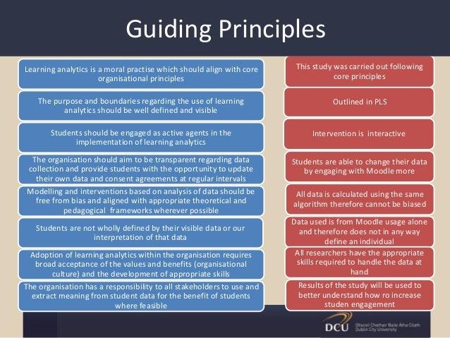 Data Acquisition Principles : Using assessment data