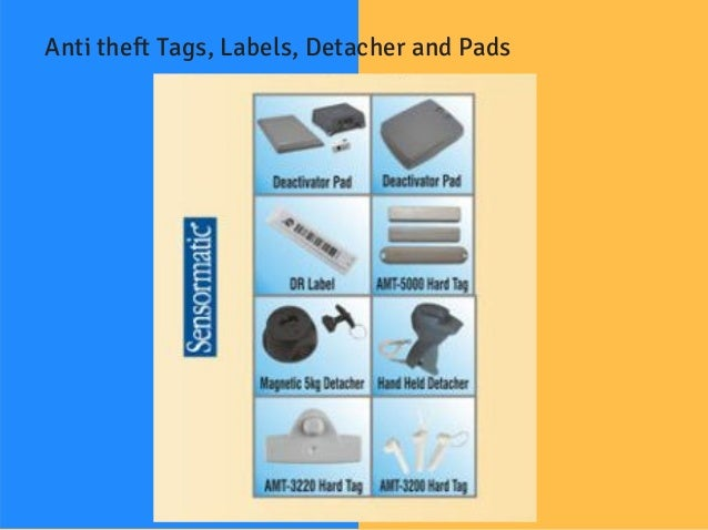 Anti-Theft Tags and Detection Systems from Stallion
