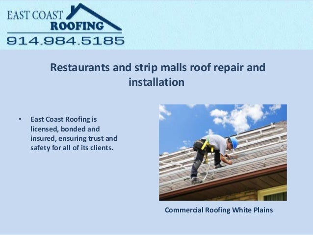 East Coast Roofing NY - Commercial Roofing Services