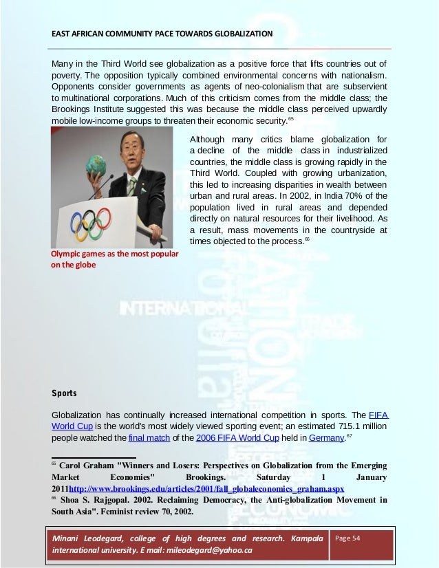 media and globalization essay Teaching guide for globalization essays consequently, despite efforts of nationally-based media to develop local television, movie.