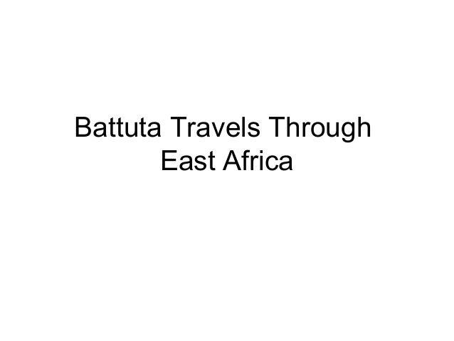 Battuta Travels Through East Africa
