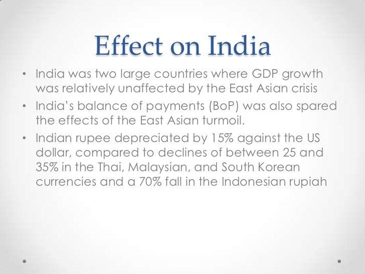 The east asia crisis essay