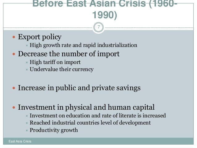 causes of the asian financial crisis essay Financial crisis essay examples exploring the causes of the financial crisis in thailand that began in 1997 an overview of the 1997 asian economic crisis.